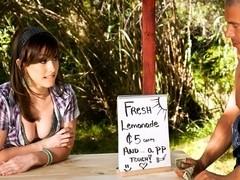Giselle Leon,Jennifer White In Farm Girls Gone Bad, Scene 2
