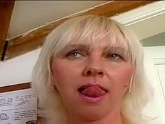 KIMI old blond bitch