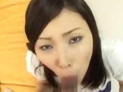 Crazy Japanese model Nozomi Mashiro in Incredible Creampie, Handjobs JAV video