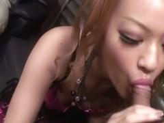 Hottest Japanese whore Rinka Kanzaki in Fabulous JAV uncensored Group Sex scene