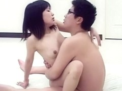 Exotic Japanese girl in Horny JAV uncensored Cumshots clip