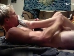 Smelling girlfriends socks and jerking off