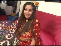 Indian beauty having joy with 2 dongs !