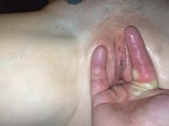 Wife's hot pussy