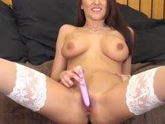 Horny pornstar Alexis Grace in Exotic Stockings, Redhead porn scene