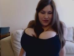 Jennica Lynn Huge Tits Solo Masturbing 2