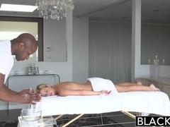 BLACKED Blonde Cherie Deville Takes Big Black Cock