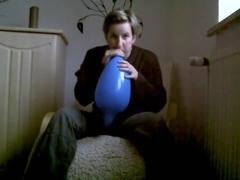 B2p blue mexican 15 balloon