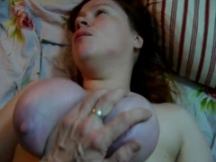 BBW Gets Fucked with her Tits Tied