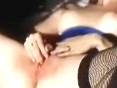 Wanking chicks with toy in my hotel room as I film her