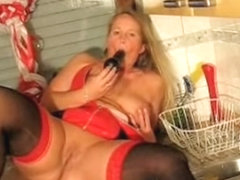 Amateur clip of my slut in hot latex