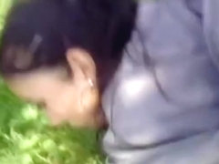 girl has a quickie atfter school in a local forest pov