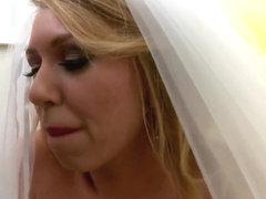 Brynn Tyler and Jordan Ash in first wedding night