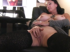 Sugar Sweet in Not Too Old For Porn Scene