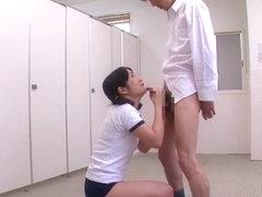 Ayu Sakurai, Ren Mukai, Ren Aizawa, Akari Hoshino in Emotional Endless Fellatio part 4
