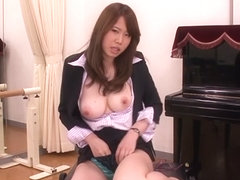 Hottest Japanese whore Nanako Mizukawa in Crazy big tits, masturbation JAV video