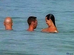 Nude beach 3some private movie