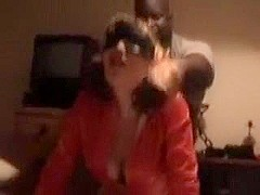 Blindfolded wife acquires screwed hard by BBC