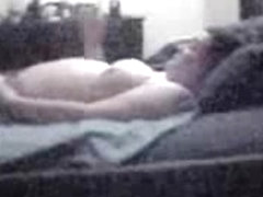 Great masturbation of my pregnant mum. Hidden cam
