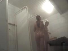 Hidden cameras in public pool showers 628