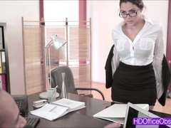 ###ary Valentina Nappi gets fucked hard by her boss at the office