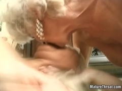 Horny granmdas are getting banged hardly