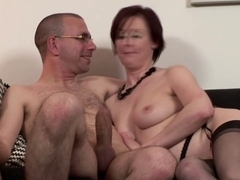 Britsh gracious older acquires pussydrilled