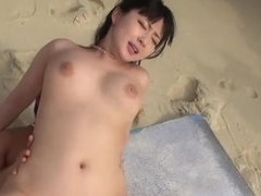 Curvy MEgumi Haruka loves hard fucking in outdoor scene