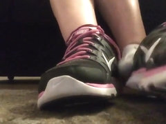 girl getting foot moleested pov 2