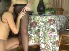 Pantyhose1 Clip: Muriel and Paula