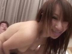 Anna Mizukawa gets nailed by two strong cocks