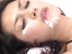 Crazy Japanese slut Maria Ozawa in Exotic Lingerie, Stockings/Pansuto JAV movie