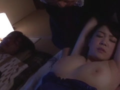 Exotic Japanese girl Aki Nagase in Incredible rimming, threesomes JAV scene