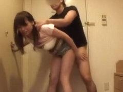 Horny Japanese slut Yuri Sakano in Hottest Fingering JAV clip