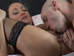 Michelle Lay does some cock sucking and fucking wit her boyfriend