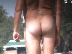 Sexy beach nudists enjoy the hot summer day on voyeur cam
