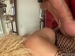 Impure sheboy receives her lengthy ramrod licked to jab his booty hard