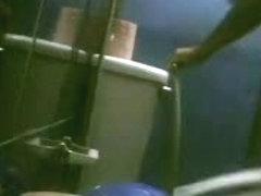 Home hidden bathroom cam video of a hot girl pissing