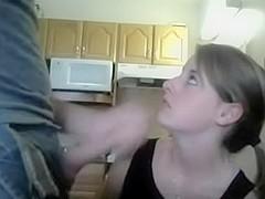 I gave a facial to a teen floozy