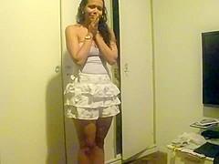 Incredible twerk web camera solo video