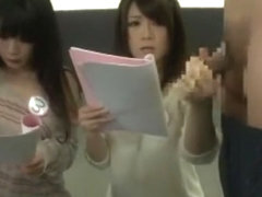 Best Japanese whore Tsumugi Serizawa, Jun Mamiya in Fabulous Handjobs, Secretary JAV clip