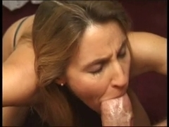 Mother I'd Like To Fuck Sucks Your Wang And Receives A Creamy Face !