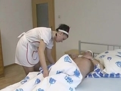 This German Nurse knows how to cure a patient