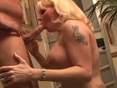 Nice mom-slut with sweet big tits & guy