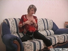 Hot Girlfriends Having Anal Strap-on And Fisting Fun!