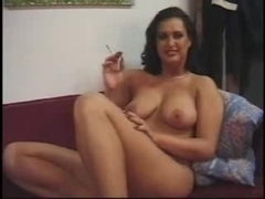 Incredible slut enjoys a wicked bukkake orgy