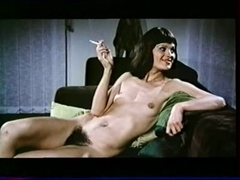 Hot vintage lesbian sluts enjoy pussy licking fun