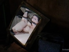 Double Teamed Extreme Bondage Brutal Suffering and Squirting Orgasms