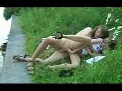 cute russian legal age teenager outdoor sex