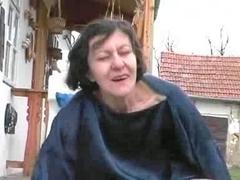 Granny Farmer Shows Hospitality To Youthful Chap